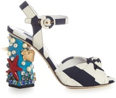 Dolce & Gabbana Under the Sea embellished sandals