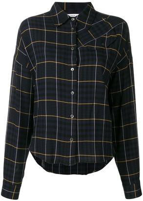 Derek Lam 10 Crosby Plaid Shirt