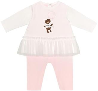 Fendi Kids Baby stretch-cotton onesie