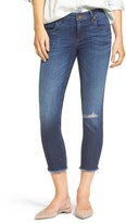 KUT from the Kloth Women's Donna Ripped Crop Jeans