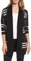 Chaus Women's Plaid Cotton Cardigan