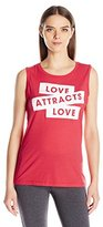 Lucy Women's Attract Love Graphic Tank
