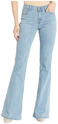 J Brand Valentina High-Rise Flare in Decadence (Decadence) Women's Jeans