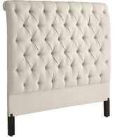 Pier 1 Imports Audrey Upholstered Flax Twin Headboard