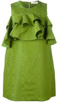 Bally BALLY RUFFLED MINI DRESS