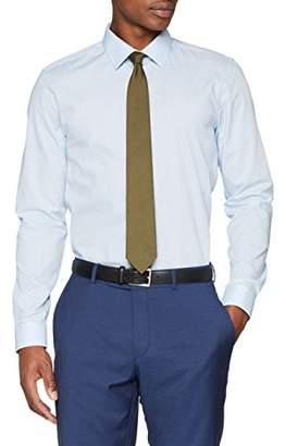 Burton Menswear London Men's Slim Shirt Business, (Size:MED)