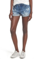 Blank NYC Women's Blanknyc Cuffed Denim Shorts