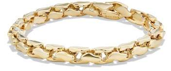 David Yurman Large Fluted Chain Bracelet in 18K Gold
