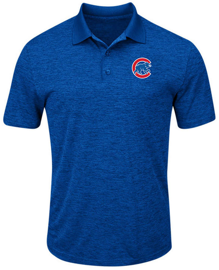 Majestic Men Chicago Cubs First Hit Polo Shirt
