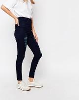 WÅVEN Anika High Rise Maria Blue Skinny Jean