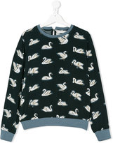 Stella McCartney swan print sweater