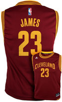 adidas Boys 8-20 Cleveland Cavaliers LeBron James NBA Replica Jersey