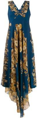 Twin-Set floral v-neck dress