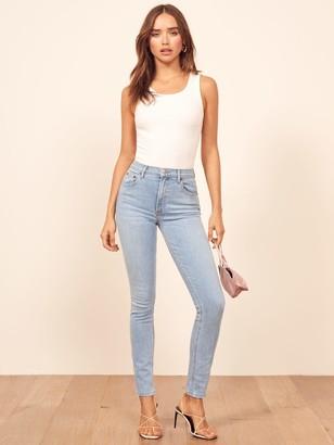 Reformation Harper High Rise Skinny Jeans