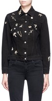 Alexander McQueen 'Surreal Obsessions' embellished denim jacket