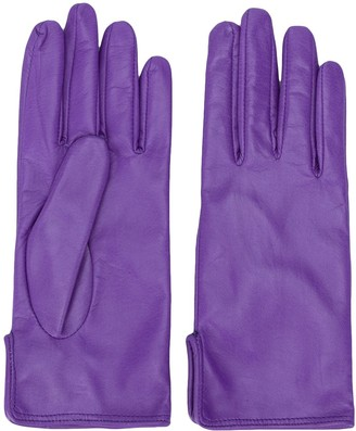 MSGM Leather Driving Gloves