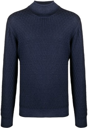 Tagliatore Raul ribbed virgin wool jumper