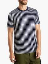 HUGO BOSS BOSS Tiburt Stripe T-Shirt, Dark Blue