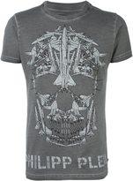Philipp Plein planes skull print T-shirt