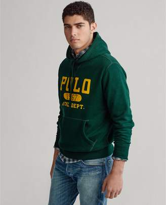 Ralph Lauren Fleece Graphic Hoodie