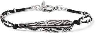Isabel Marant Silver-Tone And Cord Bracelet