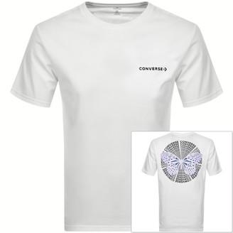 Converse Butterfly Logo T Shirt White