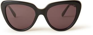 Mulberry Edith Sunglasses Black Acetate