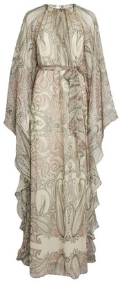 Etro Paisley Print Kaftan Dress