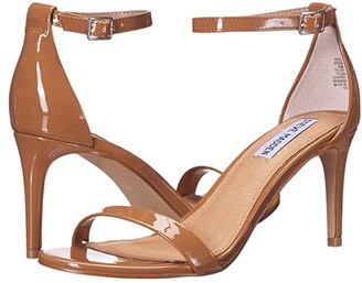 Steve Madden Exclusive - Stecia Heeled Sandal (Camel Patent) Women's Shoes