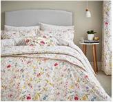 V&A Botanica 100% Cotton Duvet Cover Set – Natural