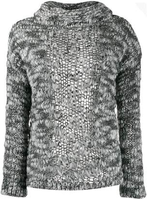 Snobby Sheep textured knitted jumper