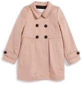 Burberry Toddler Girl's Cinita Wool Peacoat