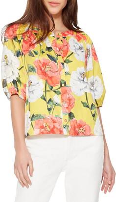 Parker Veera Floral Cotton Blouse