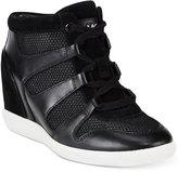 MICHAEL Michael Kors Astrid High-Top Wedge Sneakers