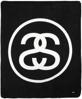 Stussy logo print blanket