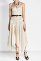 Alexander McQueen Lace Dress with Cotton