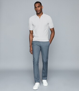 Reiss Eastbury Slim - Slim Fit Chinos in Airforce Blue