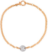 Pomellato Sabbia 18-karat Rose Gold Diamond Bracelet - one size