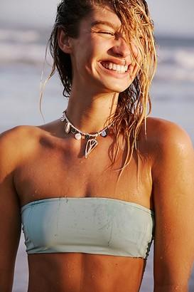 Free People Saffron Shell Collar