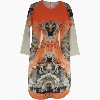 Givenchy Orange Wool Dresses