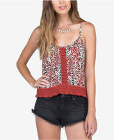 Volcom Juniors' Crochet-Detail Camisole