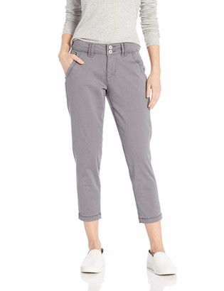 Jag Jeans Women's Petite Flora Chino Crop