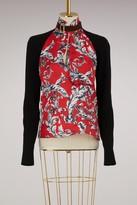 J.W.Anderson J W Anderson Silk top with Filigree prints