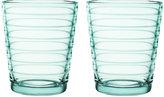 Iittala Aino Aalto Tumblers - Water Green - Set of 2 - Small