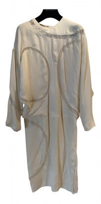 Chloã© ChloA White Silk Dresses