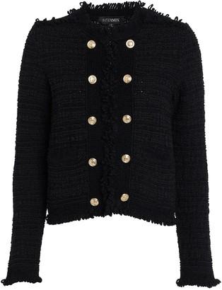 Intermix Lila Cropped Knit Jacket