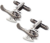Link Up Moving Helicopter Cuff Links, Gunmetal