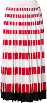 Fendi pleated knit skirt - women - Viscose/Polyester - 44