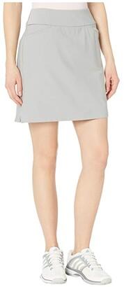 adidas Adistar Pull-On Skort (Medium Solid Grey) Women's Skort