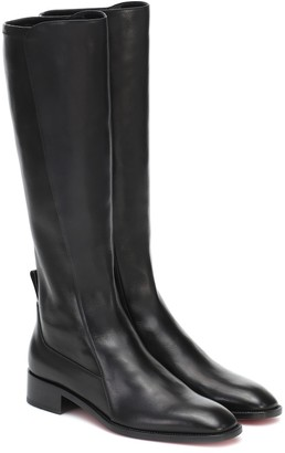 Christian Louboutin Tagastretch leather knee-high boots